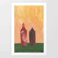 HOT Art Print