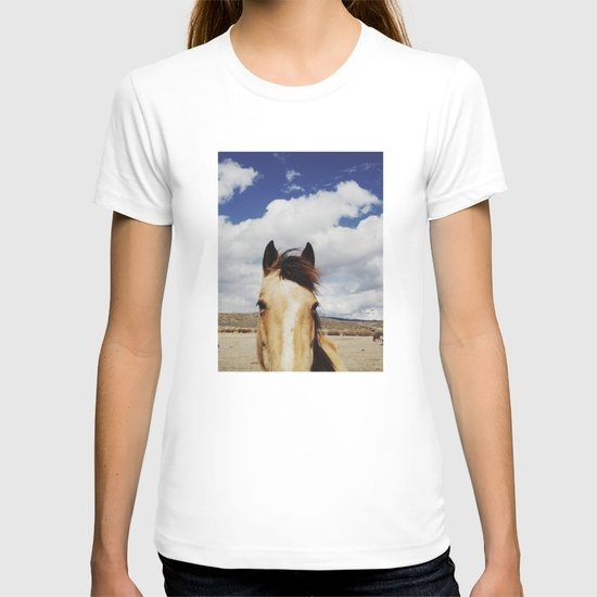 Cloudy Horse Head T-shirt
