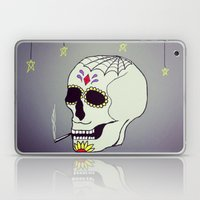 Skull Chill Out Laptop & iPad Skin
