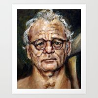 Bill Murray / Walt Bisho… Art Print