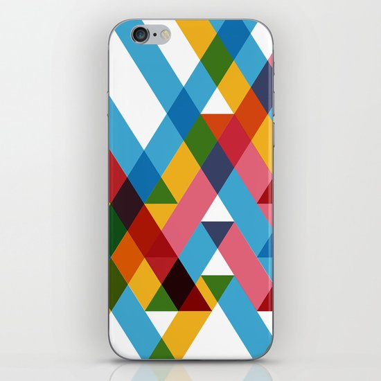 Ribbons Overlay ///www.pencilmeinstationery.com iPhone & iPod Skin