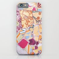 iPhone & iPod Case featuring Tiling with pattern 4 by Lucie