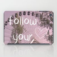 Follow your Heart iPad Case