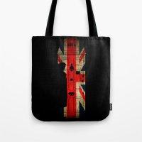 Sherlock Holmes door 221b Tote Bag