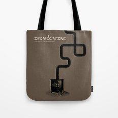 Iron & Wine Tote Bag