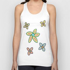 Fresh Flowers Unisex Tank Top