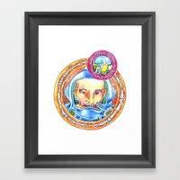 Astroteque. Framed Art Print