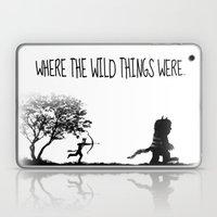 Where the wild things were. Laptop & iPad Skin