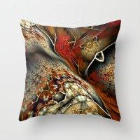 Glynnia Fractal Art Throw Pillow