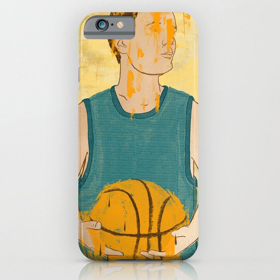 Losing my love for basketball iPhone & iPod Case