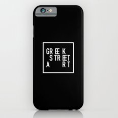 Greek Street Art Slim Case iPhone 6s