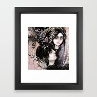 IN LOVE Framed Art Print