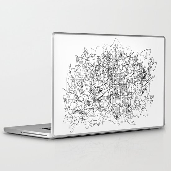 Triumph Over Chaos. Laptop & iPad Skin