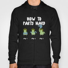 How to party hard -  Muscle Man Hoody