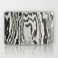 Zebra Wood Laptop & iPad Skin