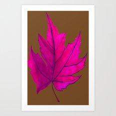 Maple Sugar Model Art Print
