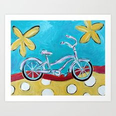 Let's Go for a Ride! Art Print