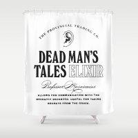 Dead Man's Tales Elixir Shower Curtain