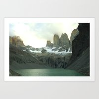 Torres Del Paine Art Print