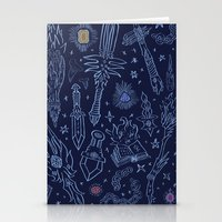Magic Weapons Stationery Cards