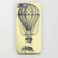 Discovery (grey on yellow) iPhone 6 Slim Case