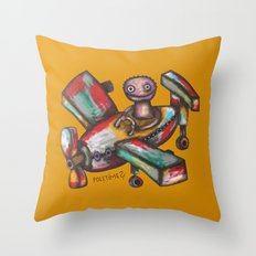 Let's Fly? Throw Pillow
