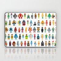 Pixel Heroes Laptop & iPad Skin
