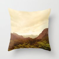 Mountains (02) Throw Pillow