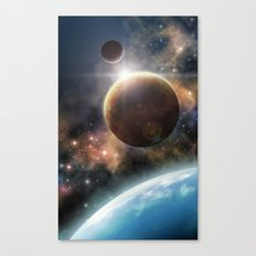 Welcome to the Space Canvas Print
