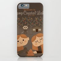 iPhone & iPod Case featuring welcome to camp crystal lake by danvinci