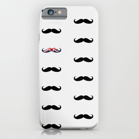 Union Jack Mustache iPhone & iPod Case