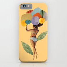 i walk out in the flowers and feel better Slim Case iPhone 6s