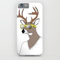 iPhone & iPod Case featuring Summer Deer by near modern disaster