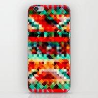 Geometric Pattern II iPhone & iPod Skin