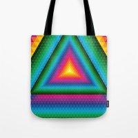 Triangle Of Life Tote Bag