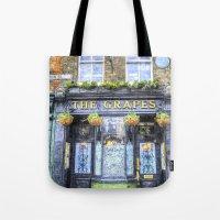 The Grapes Pub London Ar… Tote Bag