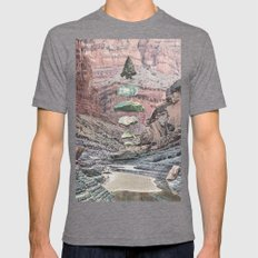 Sharpen Mens Fitted Tee Tri-Grey SMALL
