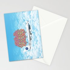 Happy Plane Stationery Cards