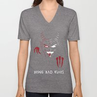 Being Bad Rules Unisex V-Neck