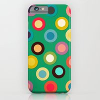 green pop spot iPhone 6 Slim Case