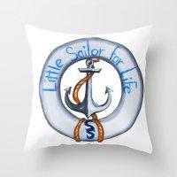 SS Throw Pillow