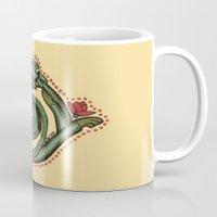 Celtic Dragon Letter O Mug