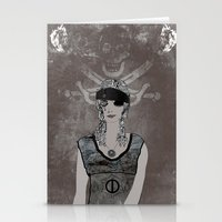 Weeping Pirates Stationery Cards