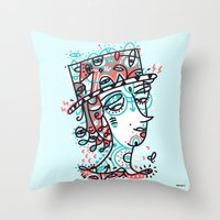 Landlord of the heart Throw Pillow