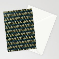 Chevron #265C73 Stationery Cards
