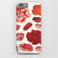 iPhone & iPod Case featuring RED by Beth Hoeckel Collage & Design