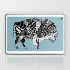 BLUE BISONTE-. Laptop & iPad Skin