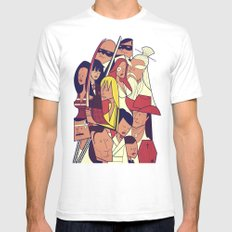 Kill Bill Mens Fitted Tee White SMALL