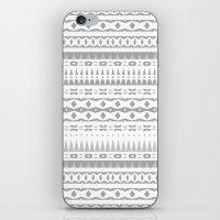 Gray Aztec iPhone & iPod Skin