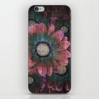 hippie flowers iPhone & iPod Skin
